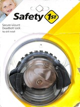 Safety 1st Secure Mount Deadbolt Lock HS162 New   - $12.86