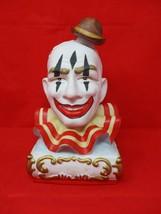 Vintage 1979 Ezra Brooks Pagliacci Clown Porcelain Decanter Empty Liquor Bottle - $75.23