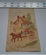 Home Treasure Paper Art Little Pig Went to Market St Louis English Joy B... - $9.49