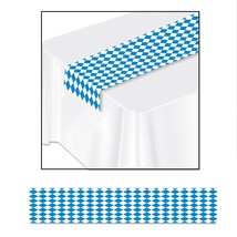 Printed Oktoberfest Plastic Table Runner (1 count) (1/Pkg)       - $4.74