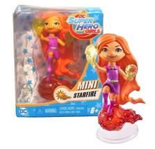 DC Super Hero Girls Vinyl Mini Starfire Doll New in Box - $6.88