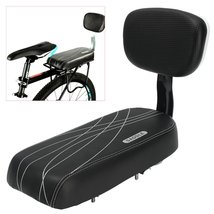BIKIGHT Black Bicycle Comfort Gel Bike Seat Pad Cushion Cover Back Rest ... - $46.12 CAD
