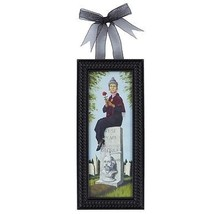 Disney Parks Haunted Mansion Woman & Grave Mini Frame New with Tags - $36.76