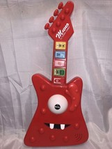 Pre-Owned Yo Gabba Gabba Muno's Groovin' Guitar Red Musical Electronic Toy - $25.73