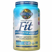 Garden of Life Raw Organic Fit Powder, Vanilla - High Protein for Weight Loss (2 - $57.29