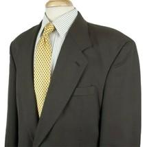 Kilburne Finch Mens Suit Coat Jacket 44R Glen Plaid Two Button Poly Wool... - $19.99