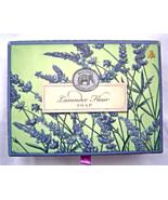 Michel Design Works Lavender Fleur Soap Bar 4.5 oz Set of 2 Made in Eng... - $24.99
