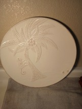 """ROSCHER  MONKEY COLLECTION PLATTER  14.5"""" ROUND--WHITE--EMBOSSED--FREE S... - $53.27"""