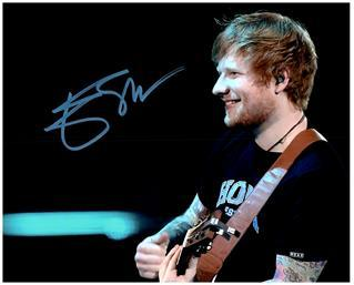 Primary image for ED SHEERAN  Authentic Original  SIGNED AUTOGRAPHED PHOTO W/COA