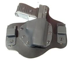 Leather Kydex Holster fits  JA JIMENEZ JENNINGS BRYCO JA9 Black J-Hooks RH - $39.95