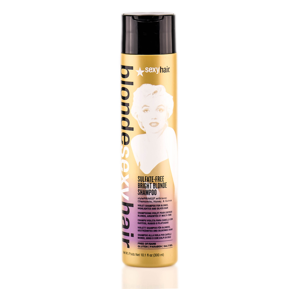 Primary image for Sexy Hair Sulfate-Free Bright Blonde Violet Shampoo 10.1oz