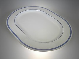 "Vera Wang By Wedgwood Riviera Oval Platter 15"" NEW WITH TAGS Made in UK - $98.95"