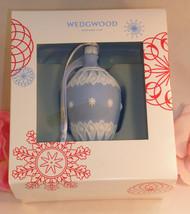 New Wedgwood Blue & White Jaspeware NeoClassical Bauble Christmas Tree O... - $35.99