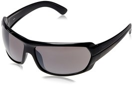 Fastrack Black Wrap Sunglasses (P190BK1|58|Brown) - $52.99
