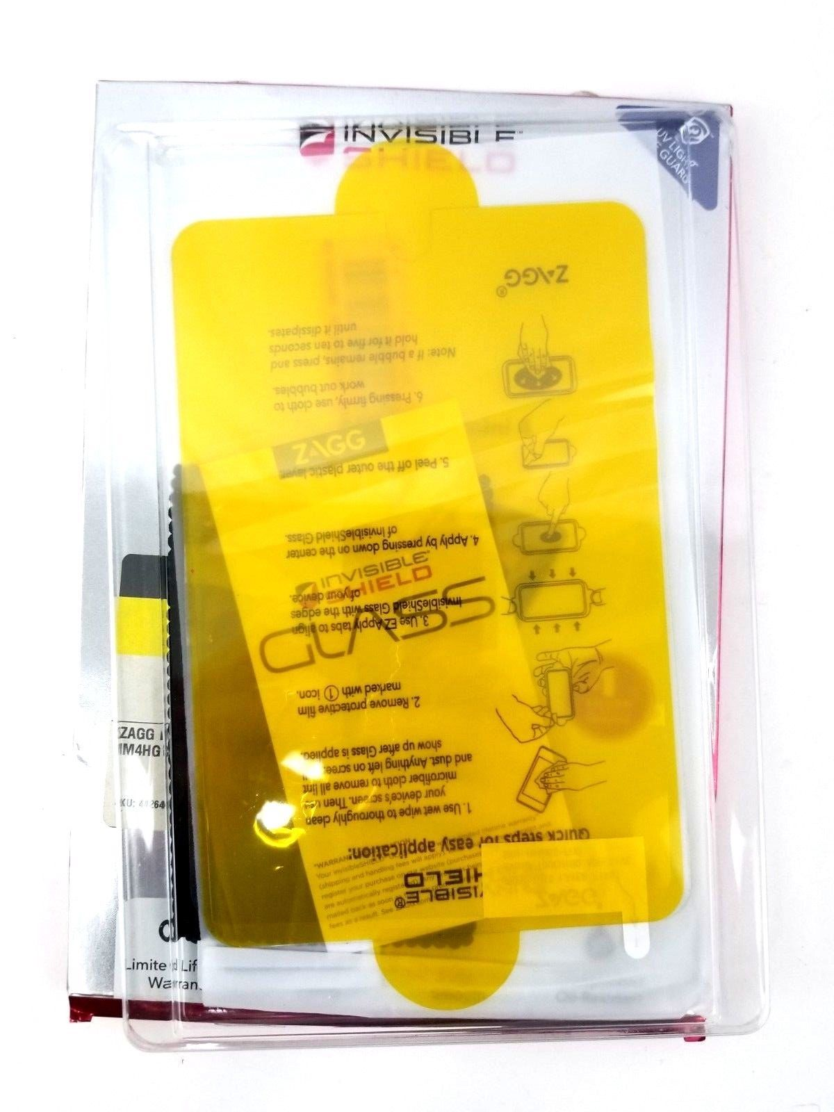 Speck CandyShell Grip Case for iPad Mini & Zagg Invisible Shield HD Glass Mini 4