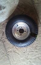 """LRD LoadStar Trailer Tire on 8"""" 4 Lug White Steel Wheel 5.70x8"""