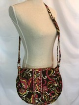 "Vera Bradley Crossbody ""Puccini"" Saddle Up Purse Handbag  - $24.99"