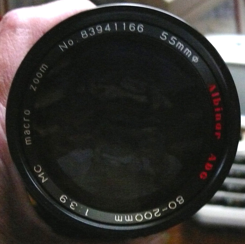 Albinar ADG 80-200mm Macro Zoom MC Lens for Canon 35mm Film Camera