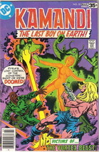Kamandi, The Last Boy On Earth Comic Book #55 DC Comics 1978 FINE - $5.94