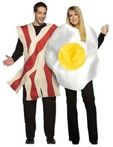 Bacon Fried Egg Couples Costume Food Halloween Party GC7096 - $59.99