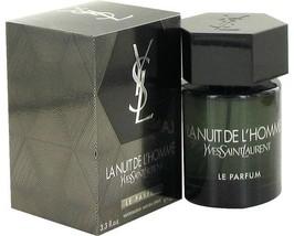 Yves Saint Laurent La Nuit De L'homme Le Parfum Cologne 3.4 Oz EDP Spray image 2