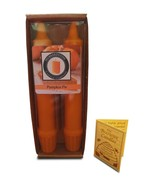 """100 Percent  Pure Beeswax 6"""" Pumpkin Pie Scented Taper Candle Pair  - $10.99"""
