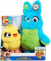 Disney Pixar Toy Story 4 Ducky-Bunny Scented Friendship Plush NEW in Pack - $18.80