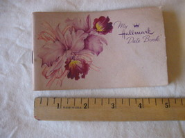 Vintage 1952 Hallmark Date Book Unused CL20-32 - $4.99