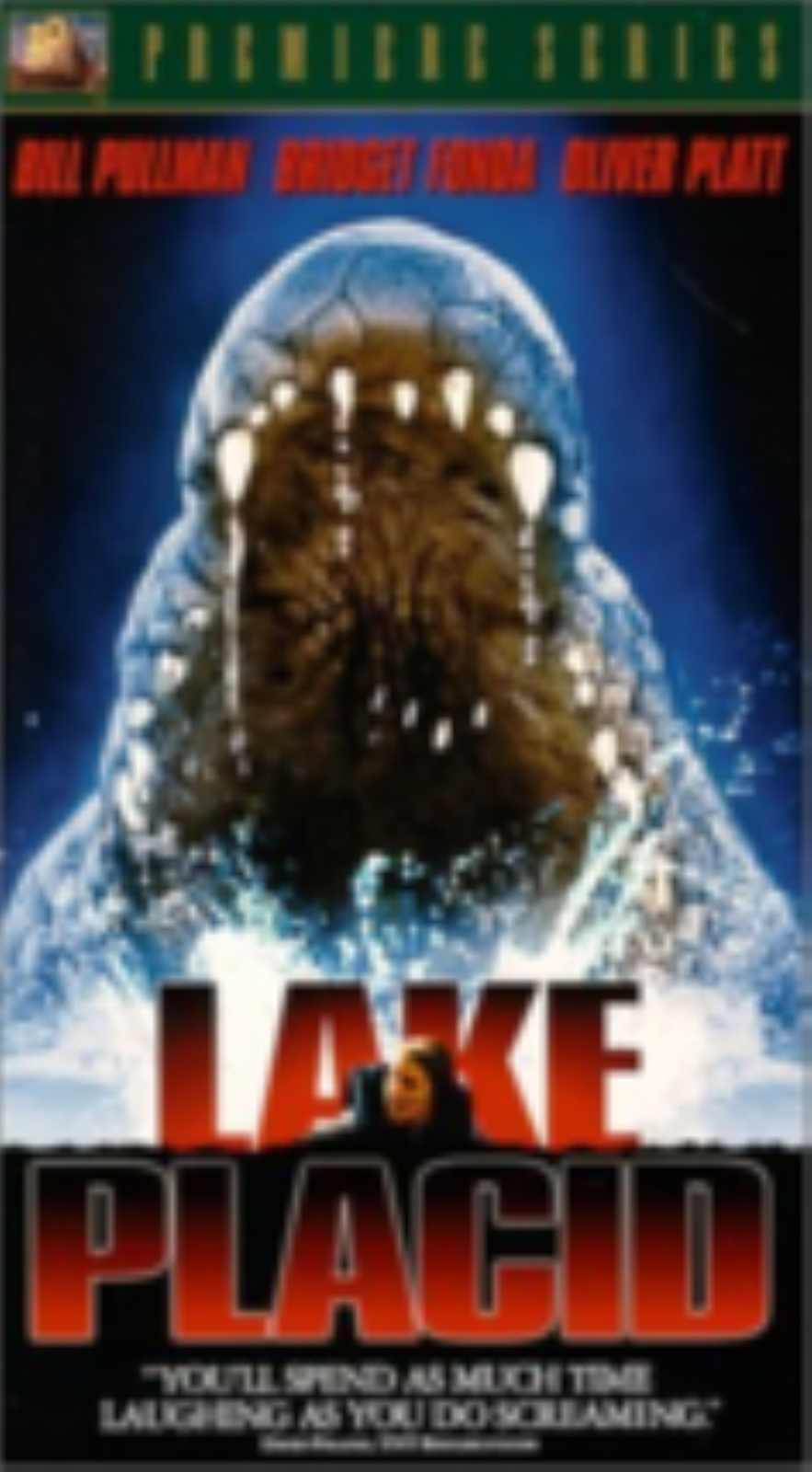 Lake Placid Vhs