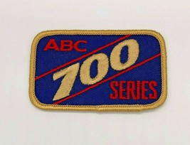 Vintage ABC 700 Series Bowling Patch with Gold Trim - $4.94