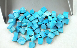 1000 Ct AAA BLUE CHRYSOCOLLA TURQUOISE ROUGH HIGH GRADE PERU*200 PIECES* - $177.48