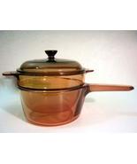 Corning Vision Amber 1.5 Liter Double Boiler Set - $45.00