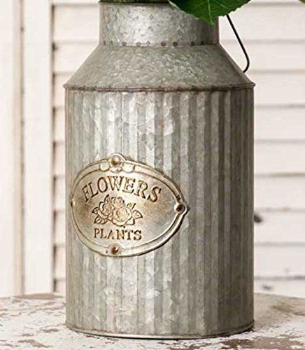 Vintage Style Decorative Advertising Can w/ Handle Country Decor