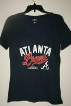 MLB Genuine Merchandise Atlanta Braves 2018 Postseason Women's T-Shirt S... - $9.50