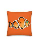 Kids Clown Fish Nemo Fish Orange Premium Pillow Cushion Dory Characters ... - $32.00+