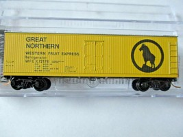 Micro-Trains #04700420 Great Northern 40' Double-Sheathed Wood Reefer N-Scale image 1