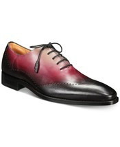 Mezlan Addy Men's Tri-Tone Wingtip Oxfords Black Multi, Size 10.5 M - $445.49