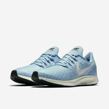 Nike Women's Air Zoom Pegasus 35 Running Shoes Aluminum Blue Sail 942855... - $77.72