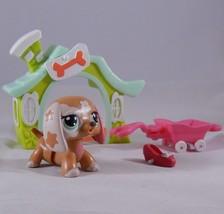 Littlest Pet Shop Walkables 2163 Dachshund Puppy Dog Accessories LPS - $14.69