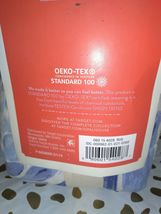 Floral Print Tufted Pillow Sham Blue - Opalhouse Standard 1 Sham  STORE NEW! image 8