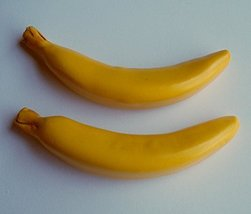 2 Bananas Fruit School Snack Set of 2 - Perfect for 18 Inch American Girl Dolls - $9.99