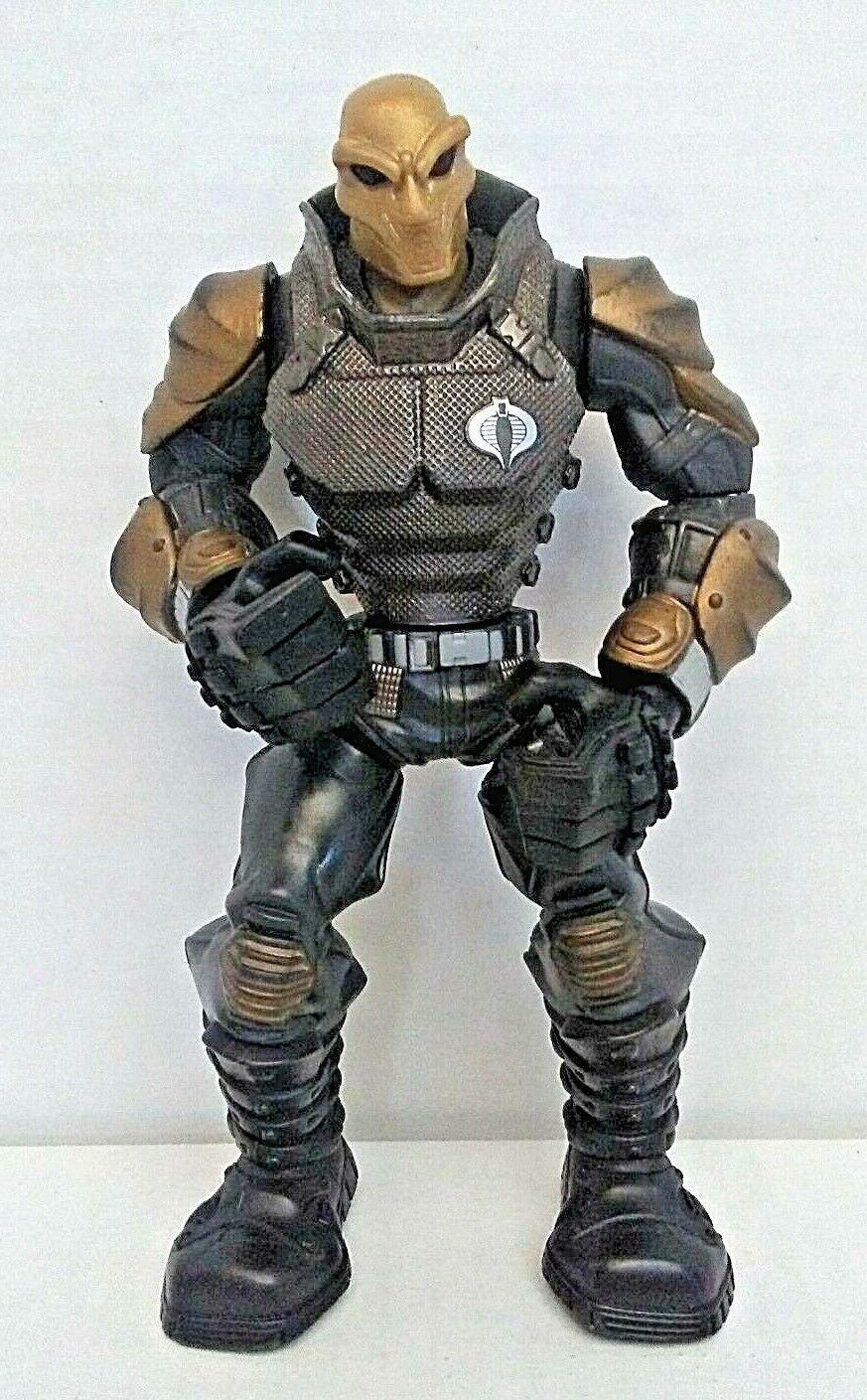 GI Joe Action Battlers Cobra Viper Commando Action Figures Toys 2008 Hasbro