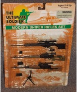 2000 21st Century Toys Ultimate Soldier Modern Sniper Rifles Set New In ... - $29.99