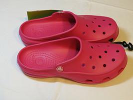 Crocs Damen Freesail Bonbonrosa Clog Hausschuhe 200861-6x0 W 6 W6 Schuhe - $29.74