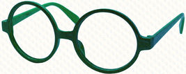 Classic Vintage Round Wizard Costume Nerdy Glasses Frames NO LENS Spectacle Wear image 10