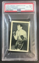 1935 UTC United Tobacco Company World Famous Boxers #20 DAVE CARSTENS - ... - $48.51