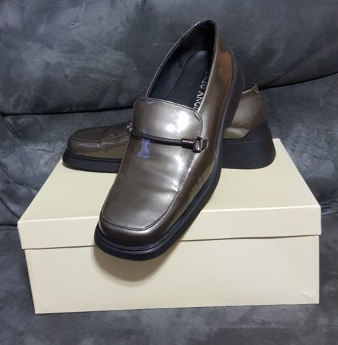 4445c24eb4 Enzo Angiolini Exceed Gray Patent Leather and 50 similar items. 12