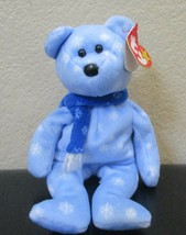 Ty Beanie Babies 1999 Holiday Teddy Creased & Worn Tags - $5.93