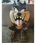 Extremely Rare! WB Looney Tunes Taz Tasmanian Devil Sitting Big Figurine... - $495.00