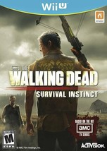 The Walking Dead Survival Instinct Wii U Great Condition Fast Shipping - $29.93